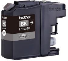 BROTHER Tintenpatrone schwarz LC-123BK DCP-J4110DW 600 Seiten