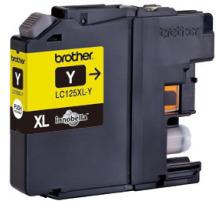 BROTHER Tintenpatrone XL yellow LC-125XLY DCP-J4110DW 1200 Seiten