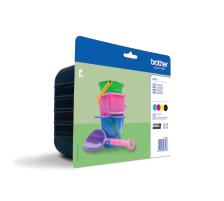 BROTHER Valuepack Tinte CMYBK LC-221VAL MFC-J1100 260 Seiten