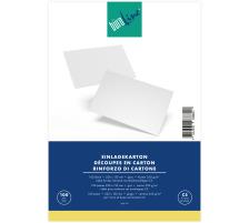 BÜROLINE Einlagekarton für C5 306714 550g, grau 100 Stück