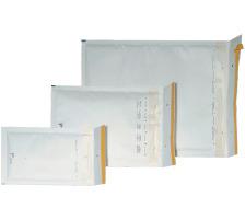 BÜROLINE Luftpolstertasche Gr.4 450104 weiss, 10 Stück 200x275mm