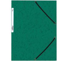 BÜROLINE Gummibandmappe A4 460695 grün