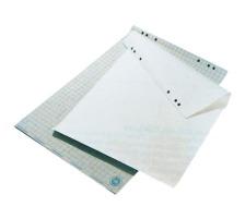 BÜROLINE Flipchart-Block 80g 68x98cm 608354 REC, kariert, 5cm 20 Blatt