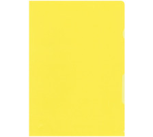 BÜROLINE Sichtmappen A4 620075 gelb 100 Stück