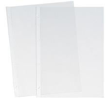 BÜROLINE Zeigetaschen PP A4 620232 transparent, glatt 100 Stück