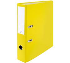 BÜROLINE Ordner 7cm 670015 gelb A4