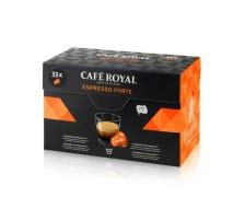 CAFEROYAL Kaffeekapseln 2001020 Espresso Forte 33 Stk.