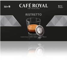 CAFEROYAL Office Pads 2001377 Ristretto 50 Stk. Die Café Royal Office Pads schützen das darin befindliche Kaffeepulver und dessen Aromen , die Aluminium-Verbundfolien-Pads sind versiegelt und halten das darin befindliche Kaffeepulver frisch und lange