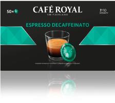 CAFEROYAL Office Pads 2001378 Espresso decaf. 50 Stk. Die Café Royal Office Pads schützen das darin befindliche Kaffeepulver und dessen Aromen , die Aluminium-Verbundfolien-Pads sind versiegelt und halten das darin befindliche Kaffeepulver frisch und