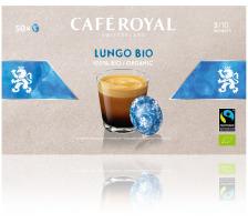 CAFEROYAL Office Pads 2002130 Lungo Bio 50 Stück Besonderheit Espresso Bio, gelb, 50 Pads, Intensität 3/10, Empfohlene Tassengrösse Espresso (40 ml), Farbe gelb, Koffeinhaltig Ja
