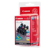 Pack 3 cartouches Originales Canon CLI-526