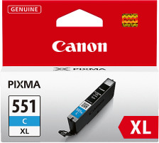 CANON Tintenpatrone XL cyan CLI-551XL PIXMA MG5450 11ml