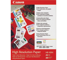 CANON Papier High Resolution A3 HR101NA3 InkJet 110g 20 Blatt