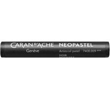 CARAN D'A Wachsmalstift Neopastel 7400.009 schwarz Typ: Künstlerisches Ölpastell von erstklassiger Qualität, Anzahl (Stück) 1, Typ Neopastel, Farbe(Filter) schwarz