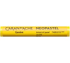 CARAN D'A Wachsmalstift Neopastel 7400.010 gelb Typ: Künstlerisches Ölpastell von erstklassiger Qualität, Anzahl (Stück) 1, Typ Neopastel, Farbe(Filter) gelb