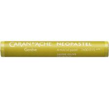 CARAN D'A Wachsmalstift Neopastel 7400.015 gelb Typ: Künstlerisches Ölpastell von erstklassiger Qualität, Anzahl (Stück) 1, Typ Neopastel, Farbe(Filter) gelb
