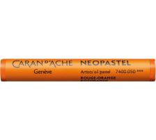 CARAN D'A Wachsmalstift Neopastel 7400.050 orange Typ: Künstlerisches Ölpastell von erstklassiger Qualität, Anzahl (Stück) 1, Typ Neopastel, Farbe(Filter) orange
