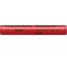 CARAN D'A Wachsmalstift Neopastel 7400.080 karmin Typ: Künstlerisches Ölpastell von erstklassiger Qualität, Anzahl (Stück) 1, Typ Neopastel, Farbe(Filter) rot