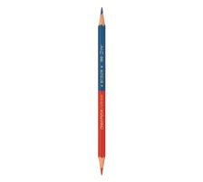 CARAN D'A Farbstift Bicolor 999.300 blau/rot Eigenschaften zweifarbig,6-eckig,wasserlöslich, Typ Duo-Farbstifte, Farbe(Filter) multicolor, Anzahl Farben 2
