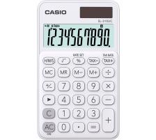 CASIO Taschenrechner SL310UCWE 10-stellig weiss