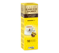CHICCO D´ Kaffee Caffitaly 802000 Tradition Arabica 10 Stück