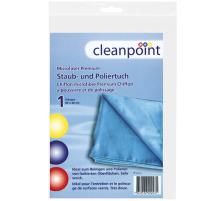 CLEANPT. Mikrofaser Premium 678035 blau 40x40cm