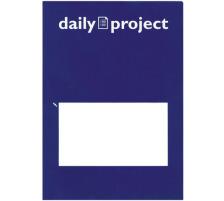 DAILY Organisationsmappen Daily A4 256570 blau 3 Stück Stabile Hülle für umfangreichere Projekte und ganze Konzepte , dehnbare Seitenfalten , mit Inhalten bis 10 mm Dicke füllbar , mit praktischem Beschriftungsfeld auf der Vorders