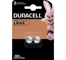 DURACELL Knopfbatterie Specialty 76A LR44, 1.5V 2 Stück