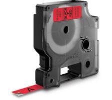 DYMO Schriftband D1 schwarz/rot S0720720 9mm/7m Für DYMO-Geräte: 1000 Plus, 3500, 4500, 5500 und Pocket / LabelPoint 150, 200, 250, 300 und 350 / LabelWriter Duo / LabelManager 500TS, PnP, PnP Wireless, 280, 420P, 360D, 260P, 210D, 160, 350