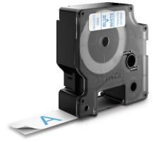 DYMO Schriftband D1 S0720840 blau/weiss 19mm/7m Für DYMO-Geräte: 1000 Plus, 3500, 4500, 5500 und Pocket / LabelPoint 150, 200, 250, 300 und 350 / LabelWriter Duo / LabelManager 500TS, PnP, PnP Wireless, 280, 420P, 360D, 260P, 210D, 160, 350
