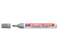 EDDING Permanent Marker 3000 1,5-3mm 3000-12 grau
