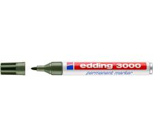 EDDING Permanent Marker 3000 1,5-3mm 3000-15 olivgrün
