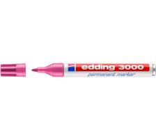 EDDING Permanent Marker 3000 1,5-3mm 3000-9 rosa