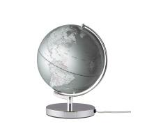 EMFORM Globus TERRA SE-0711 Höhe 32, Ø 25cm silber