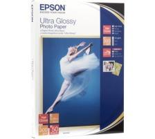 EPSON Ultra Glossy Photo 13x18cm S041944 Stylus DX 3800 300g 50 Blatt