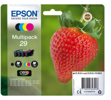 EPSON Multipack Tinte CMYBK T298640 XP-235/335/435 4-color