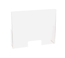 EXACOMPTA Hygienewand Exascreen 80458D Acrylg. Stand-alone 95x58x18cm
