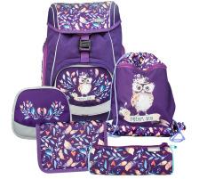 FUNKI Flexi-Bag Set Hippie Owl 6040.608 flieder 5-teilig
