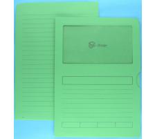 GOESSLER Organisationsmappen 220x310mm 2803 grün 100 Stück