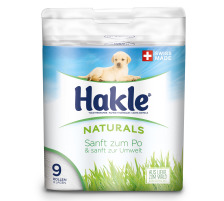 HAKLE Toilettenpapier FSC weiss 4419747 150 Blatt, 3-lagig 9 Stück