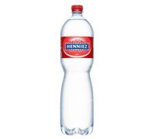 HENNIEZ Mineralwasser rot PET 1.5lt 8240 6 Stück mit Kohlensäure