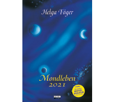 HEYNE Mondleben 453238749 D, 48.5x33cm, 2021 Typ Wandkalender, Themen Mond, Typ Wandkalender, Abmessungen