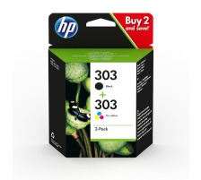 Pack 2 cartouches originales HP 303 (HP 3YM92AE)