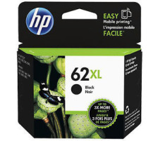 Cartouche HP 62XL noir Originale, 600 pages (Hp C2P05AE)