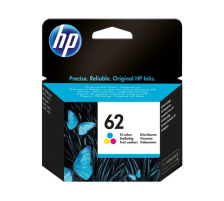 Cartouche HP 62 couleur Originale, 165 pages (Hp C2P06AE)