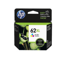 Cartouche HP 62XL couleur Originale, 415 pages (Hp C2P07AE)