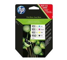 Pack HP 950XL/951XL CMJN Original (HP C2P43AE)