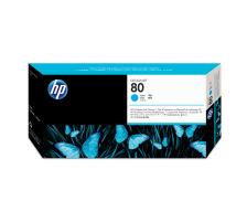 HP 80 Tête d'Impression + Cleaner Cyan (HP C4821A)