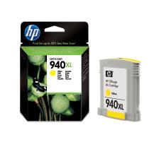 Cartouche d'encre HP 940XL jaune originale (HP C4909AE)