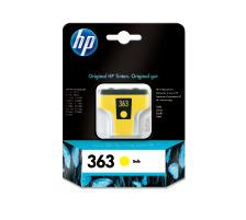 Cartouche d'encre HP 363 jaune originale (HP C8773EE   )
